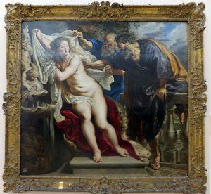 Susana y los viejos, Rubens