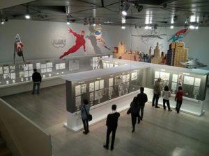 Vista general de la exposición SuperhéroescoÑ