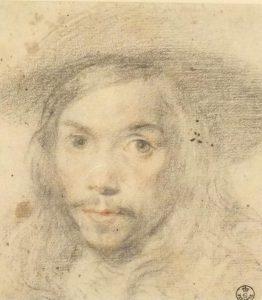 Círculo Juan Carreño Retrato de Joven con sombrero, h.1665-70 (atribuido en principio a Velázquez)
