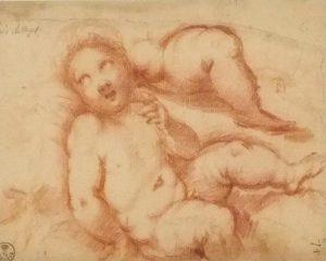 Luis de Vargas Sevilla 1505 - 1567 Estudios para un Niño Jesús, h. / post.1534