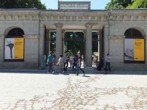 Entrada a Jardín Botánico