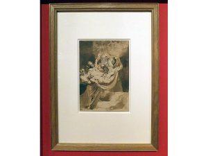 El entierro de Cristo, 1615-1616 Peter Paul Rubens Ámsterdam, Rijksmuseum, Rijksprentenkabinet