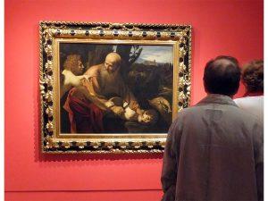 El sacrificio de Isaac, 1603 Florencia, Gallerie degli Uffizi