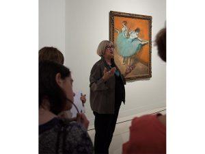 """Susan B. Frank nos habla sobre """"Bailarinas en la barra"""", 1900 de Degas."""