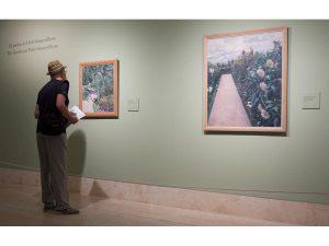 Caillebotte, pintor y jardinero. Jardínes de Yerres.