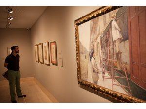 Caillebotte, pintor y jardinero. Sala dedicada al París de Haussmann.