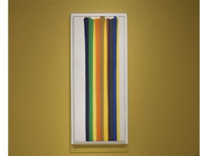 Morris Louis Número 182, 1961 Acrílico sobre tela sin imprimar The Phillips Collection, Washington D.C.