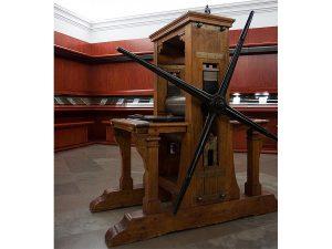 Gabinete Goya en la Calcografía Nacional